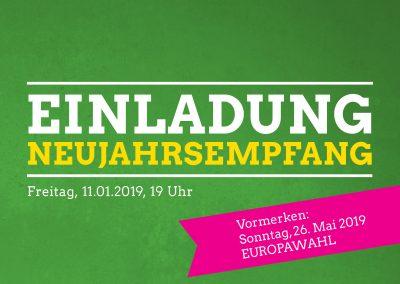 GRÜNER Neujahrsempfang @ GRÜNE Geschäftsstelle | Kaarst | Nordrhein-Westfalen | Deutschland