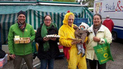 Grüne informieren über Verbraucherschutz zu Ostern