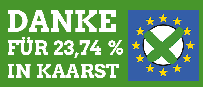 Europawahl-DANKE