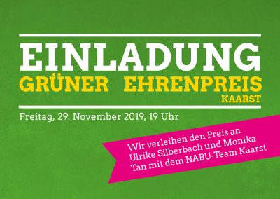 GRÜNER Ehrenpreis @ Geschäftsstelle BÜNDNIS 90/DIE GRÜNEN