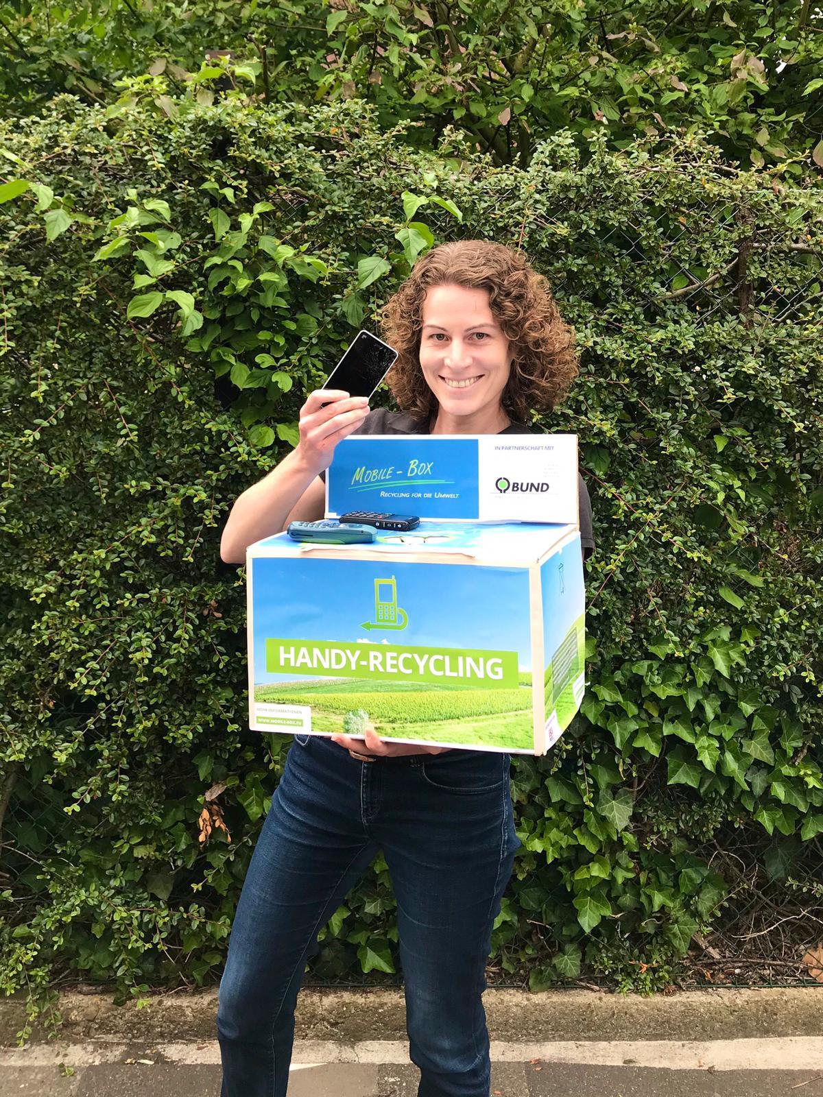 GRÜNE setzen sich für Handy-Recycling ein
