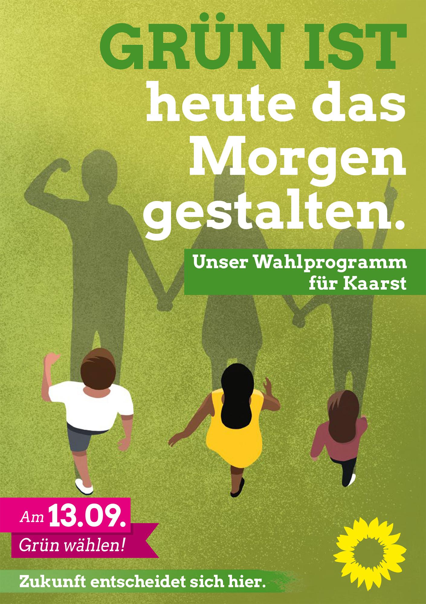Grüne Wahlprogramme online