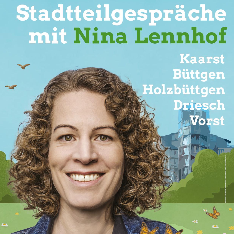Stadtteilgespräche mit Nina Lennhof